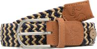 Belts Accessories Ceinture tressée bicolore