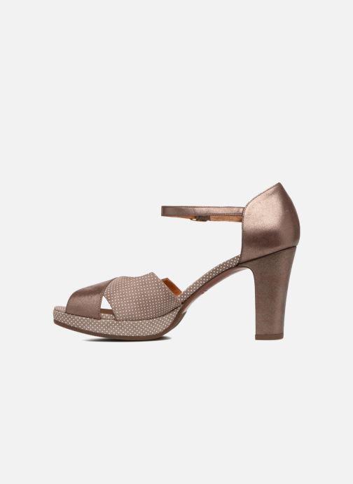 Sandales et nu-pieds Chie Mihara Nicas Marron vue face