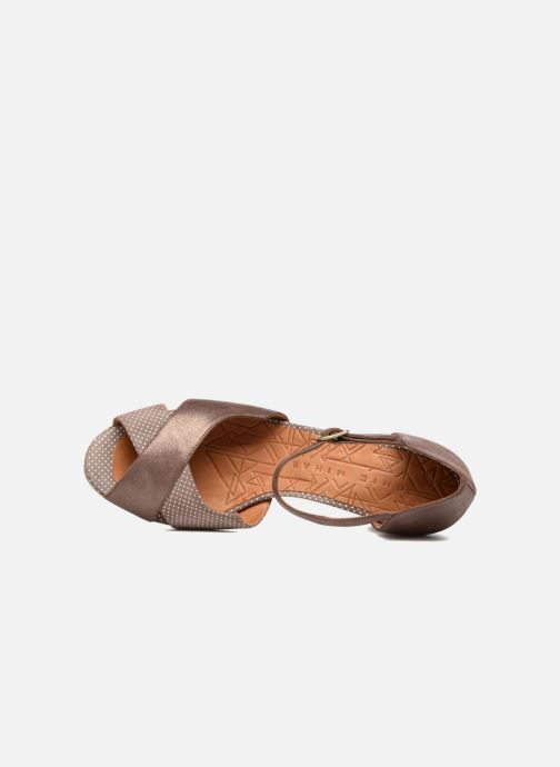 Sandales et nu-pieds Chie Mihara Nicas Marron vue gauche