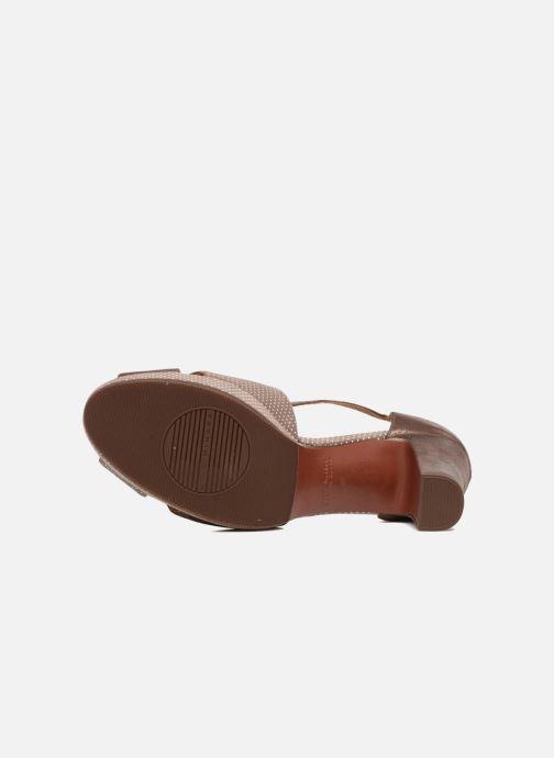 Sandales et nu-pieds Chie Mihara Nicas Marron vue haut