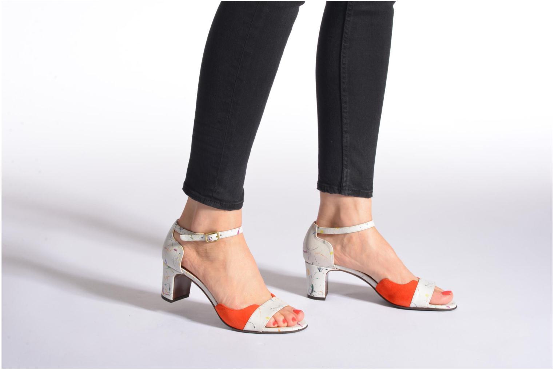 Sandali e scarpe aperte Chie Mihara Birra Multicolore immagine dal basso