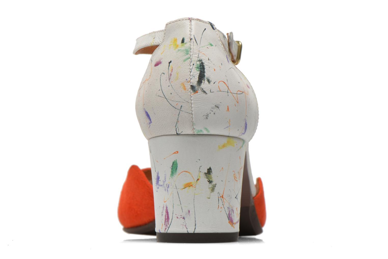 Sandali e scarpe aperte Chie Mihara Birra Multicolore immagine destra
