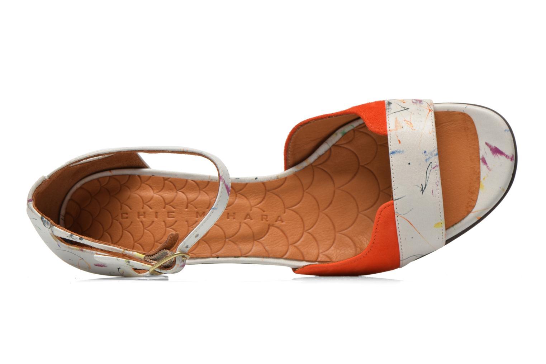 Sandali e scarpe aperte Chie Mihara Birra Multicolore immagine sinistra