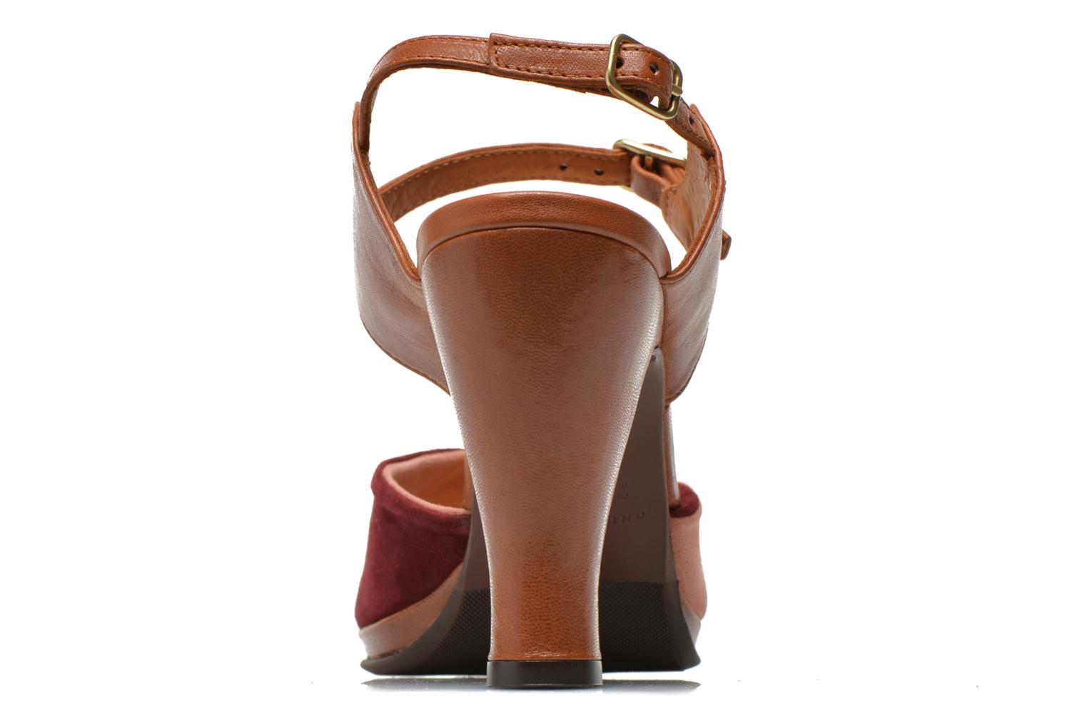 Sandales et nu-pieds Chie Mihara Fira Rose vue droite