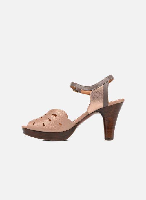 Sandales et nu-pieds Chie Mihara Loha Marron vue face