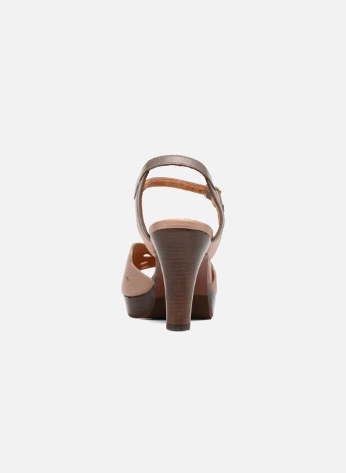 Sandales et nu-pieds Chie Mihara Loha Marron vue droite