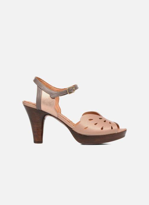 Sandales et nu-pieds Chie Mihara Loha Marron vue derrière
