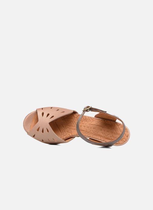 Sandalen Chie Mihara Loha braun ansicht von links