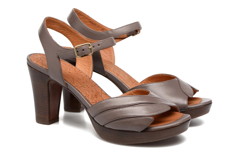Sandales et nu-pieds Chie Mihara Jantra Marron vue 3/4
