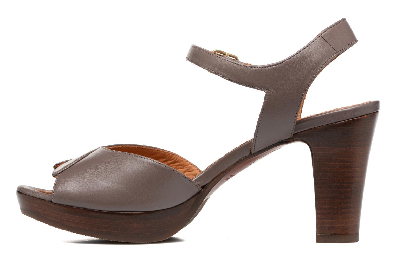 Sandales et nu-pieds Chie Mihara Jantra Marron vue face
