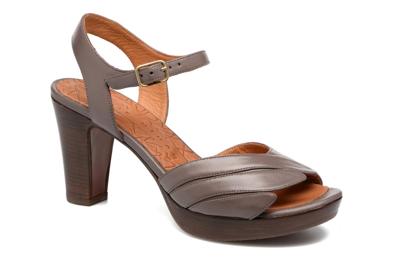 Sandales et nu-pieds Chie Mihara Jantra Marron vue détail/paire