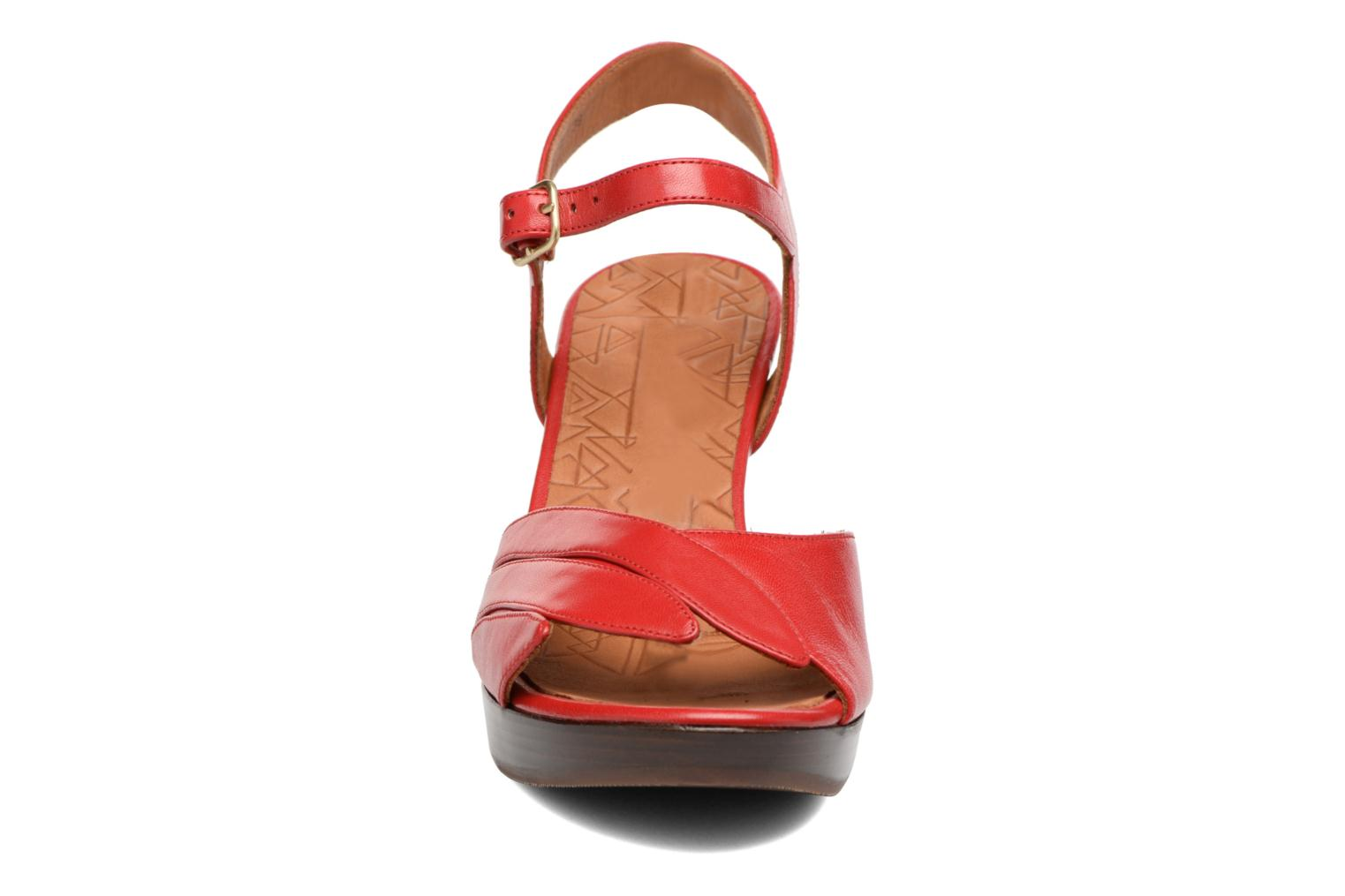 Sandals Chie Mihara Jantra Red model view