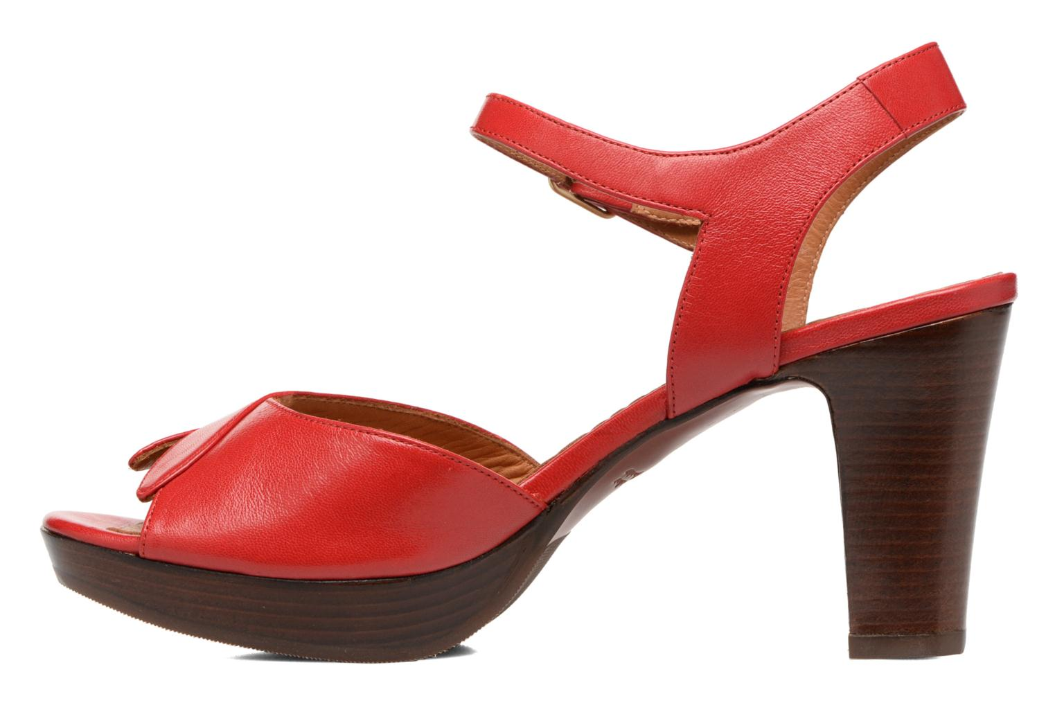 Sandals Chie Mihara Jantra Red front view