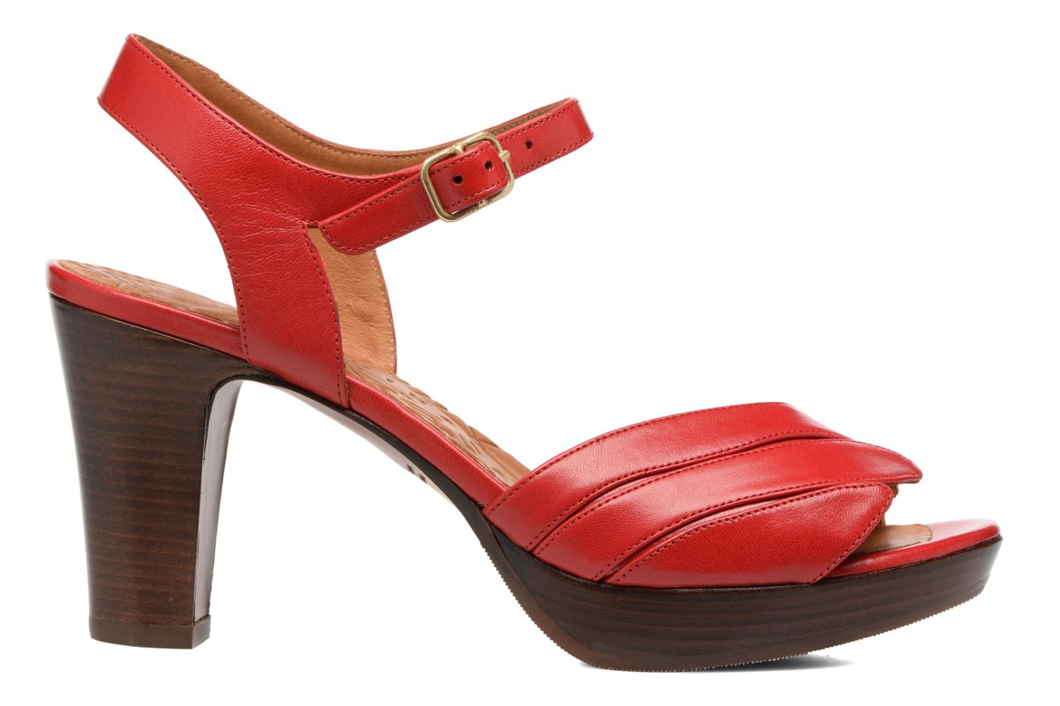 Sandals Chie Mihara Jantra Red back view