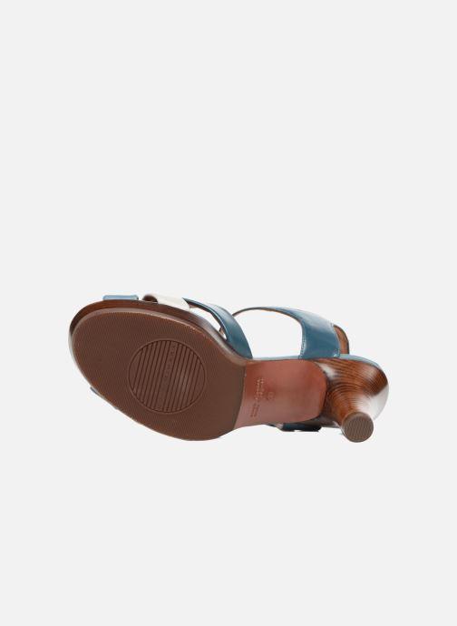 Sandales et nu-pieds Chie Mihara Lulupa Bleu vue haut
