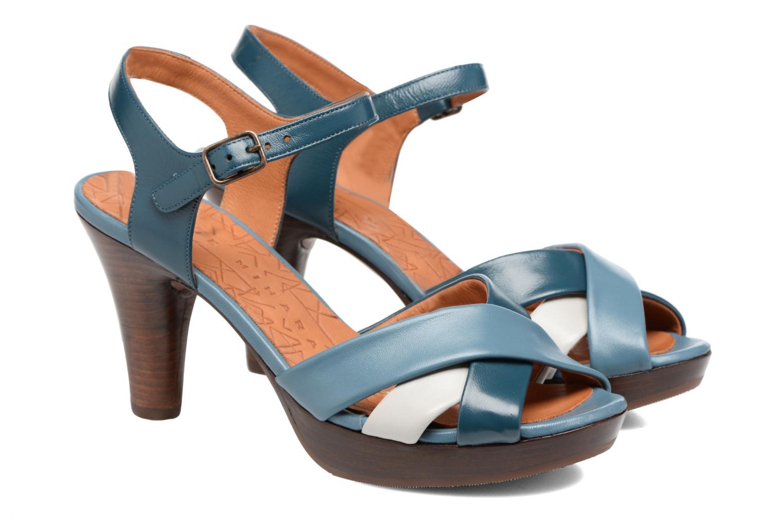 Sandales et nu-pieds Chie Mihara Lulupa Bleu vue 3/4