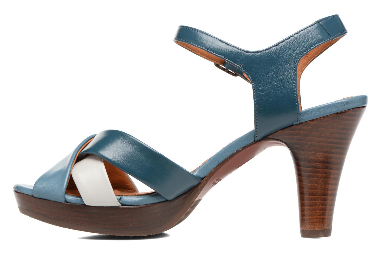 Sandales et nu-pieds Chie Mihara Lulupa Bleu vue face
