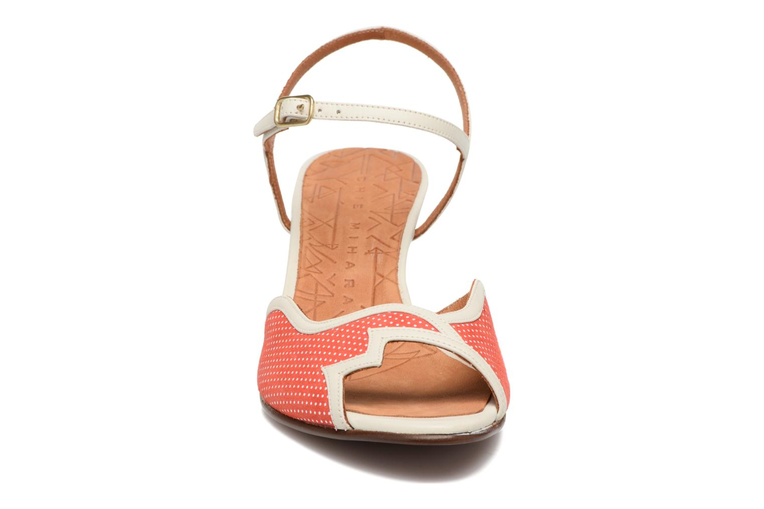 Sandals Chie Mihara Waya Red front view
