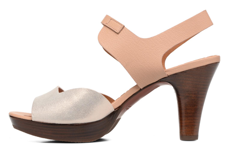 Sandales et nu-pieds Chie Mihara Loteria Marron vue face