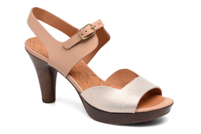 Sandales et nu-pieds Chie Mihara Loteria Marron vue détail/paire