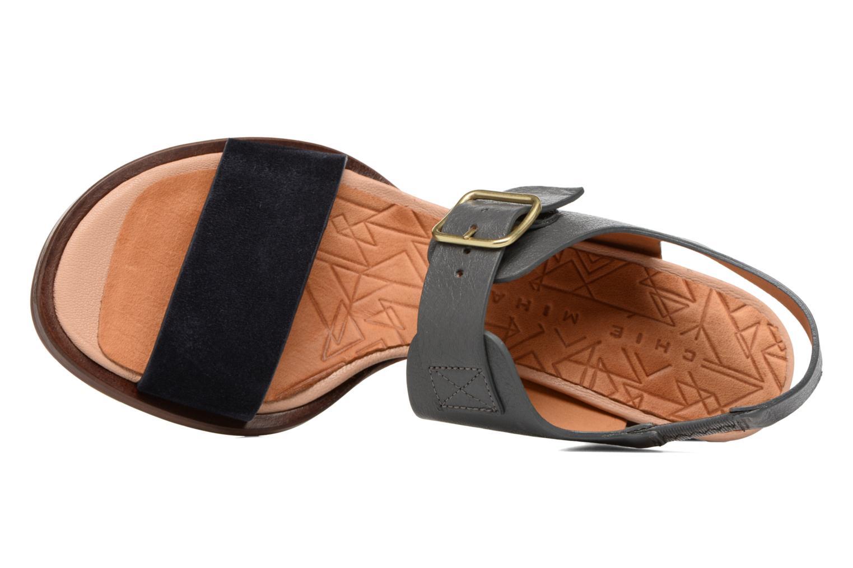 Sandales et nu-pieds Chie Mihara Queva Bleu vue gauche