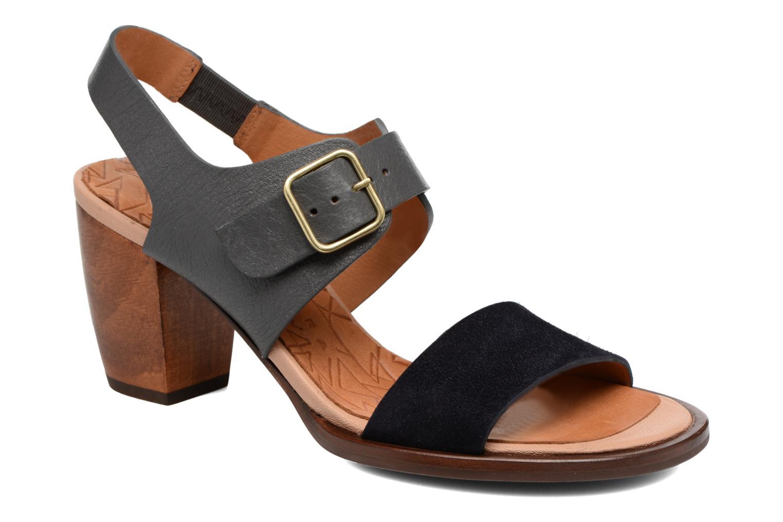 Sandales et nu-pieds Chie Mihara Queva Bleu vue détail/paire