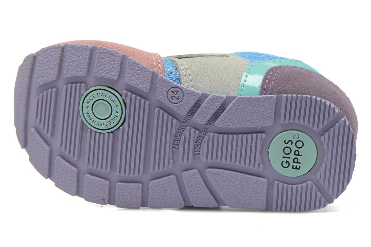 Trainers Gioseppo Sunya Multicolor view from above