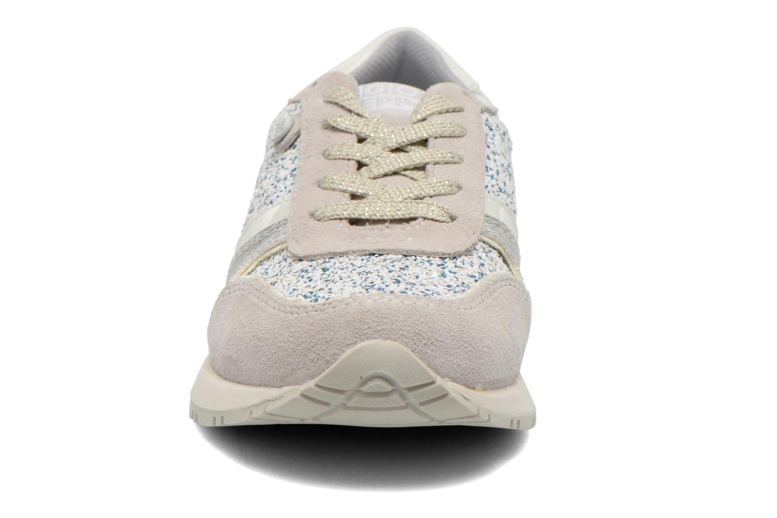 Baskets Gioseppo Sweety Blanc vue portées chaussures