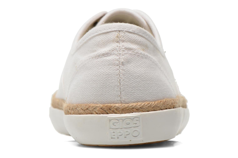 Baskets Gioseppo Mima Blanc vue droite