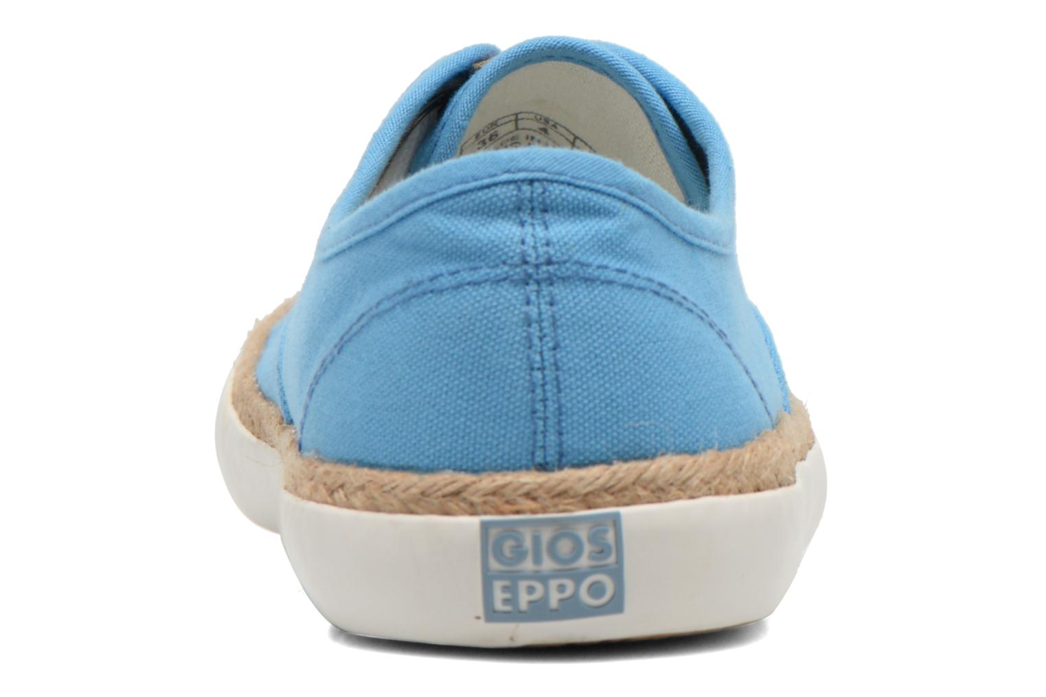 Trainers Gioseppo Mima Blue view from the right