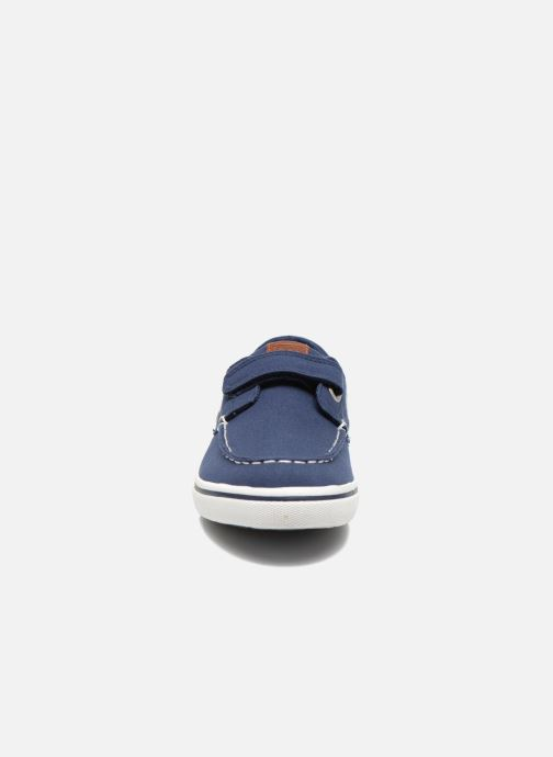 Chaussures à scratch Gioseppo Goliat Bleu vue portées chaussures