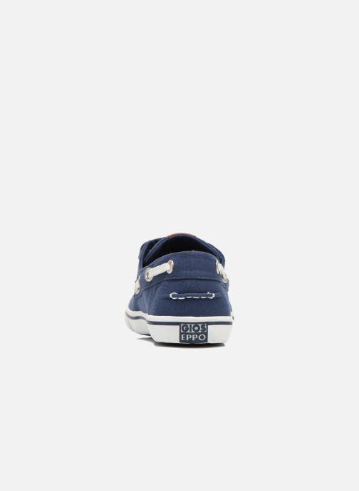 Chaussures à scratch Gioseppo Goliat Bleu vue droite