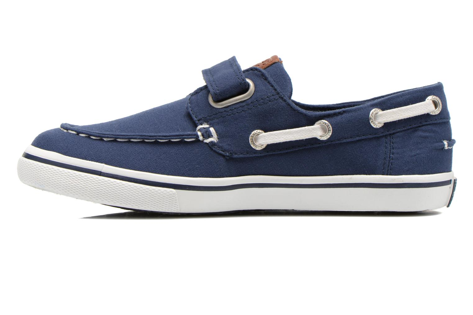 Velcro shoes Gioseppo Goliat Blue front view