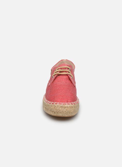 Scarpe di corda Gioseppo Jaquita Rosa modello indossato