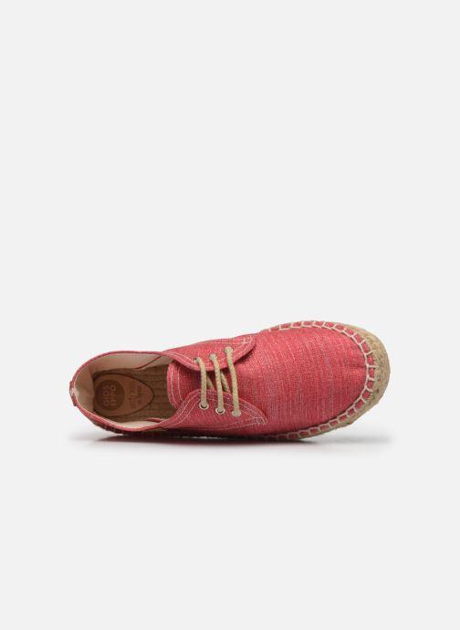 Scarpe di corda Gioseppo Jaquita Rosa immagine sinistra