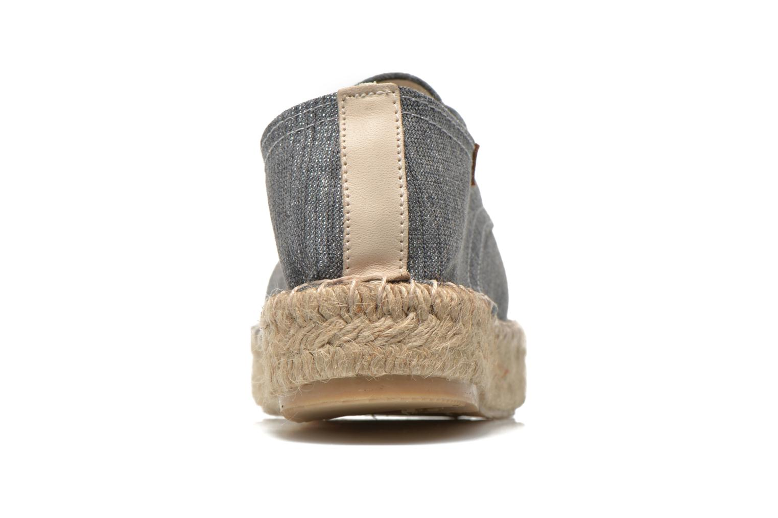 Espadrilles Gioseppo Jaquita Silver view from the right