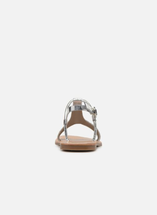 Sandali e scarpe aperte Gioseppo Bavana Argento immagine destra