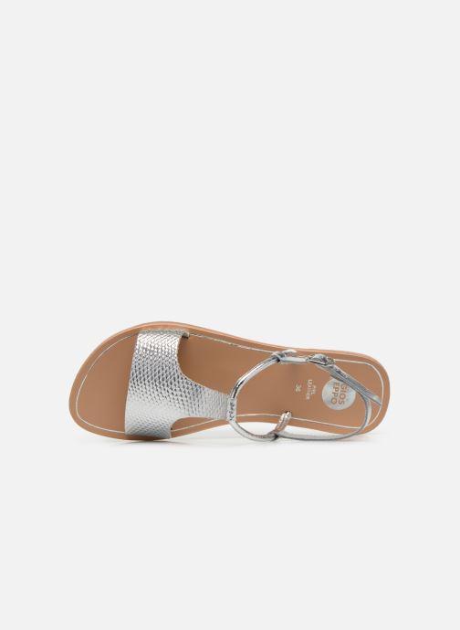 Sandali e scarpe aperte Gioseppo Bavana Argento immagine sinistra