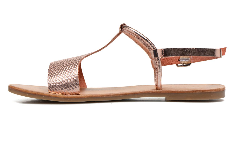Sandalen Gioseppo Bavana rosa ansicht von vorne