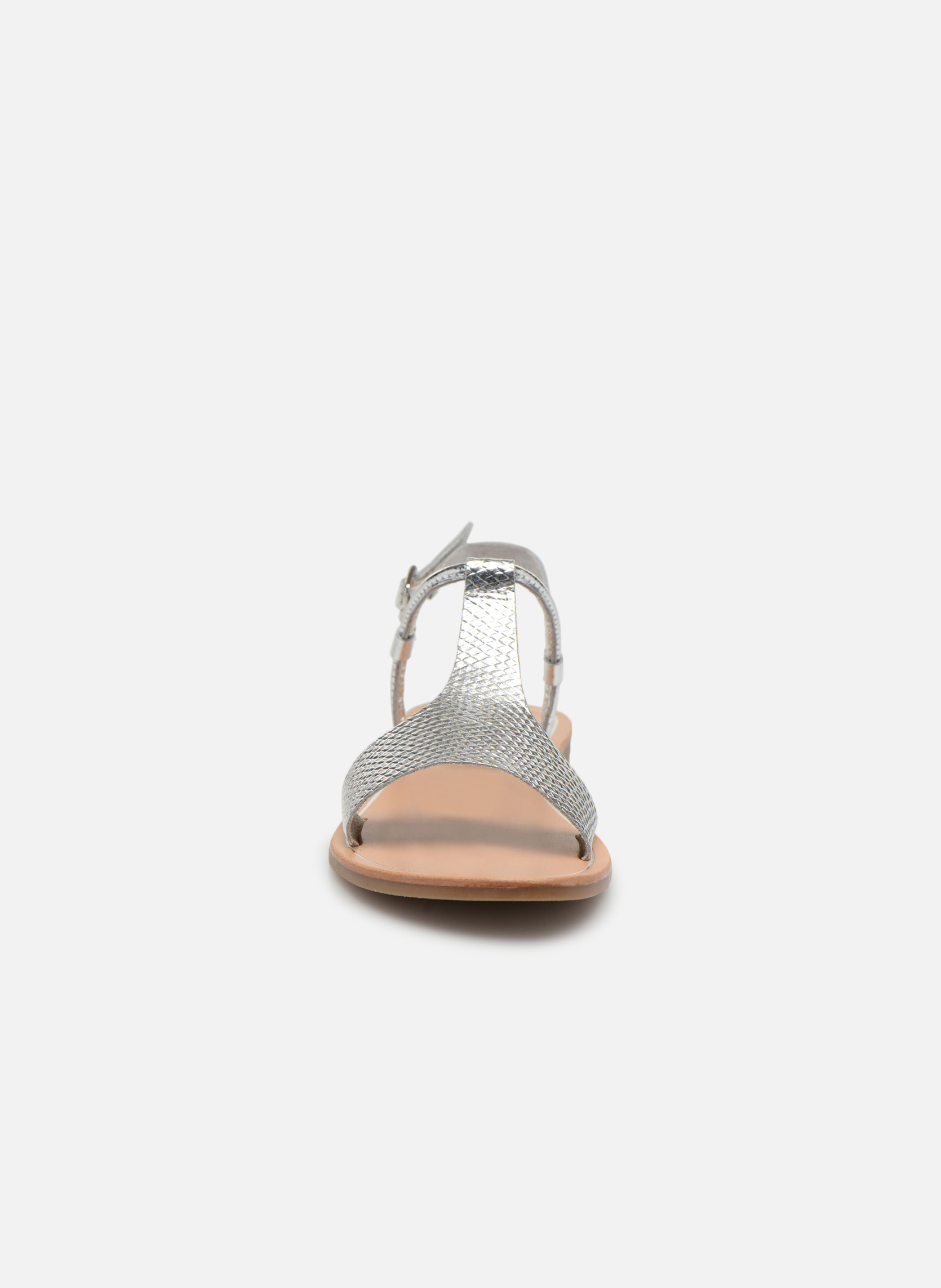 Sandals Gioseppo Bavana Silver model view