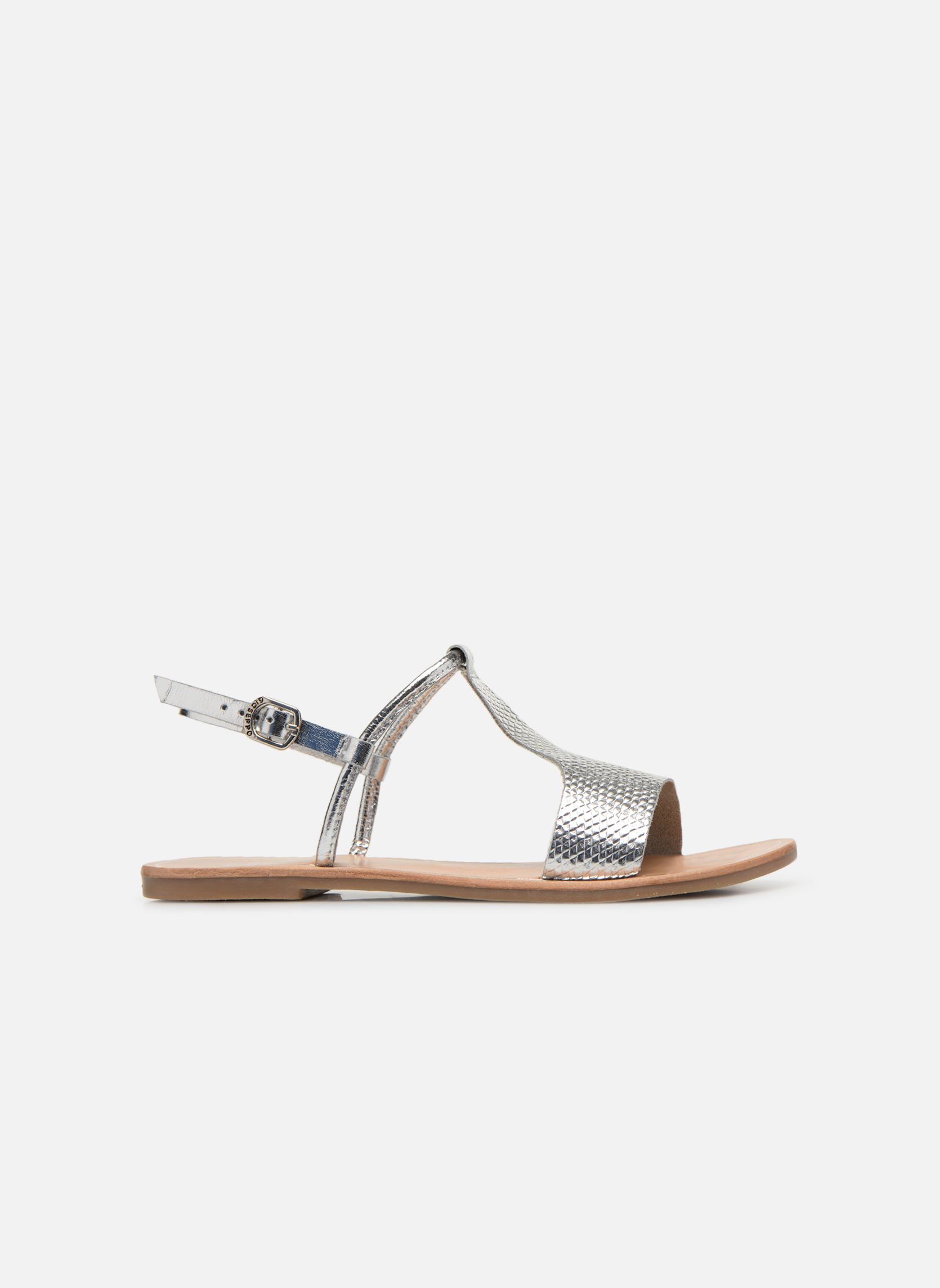 Sandals Gioseppo Bavana Silver back view