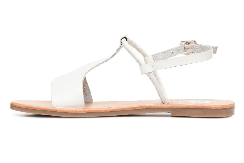 Sandales et nu-pieds Gioseppo Bavana Blanc vue face