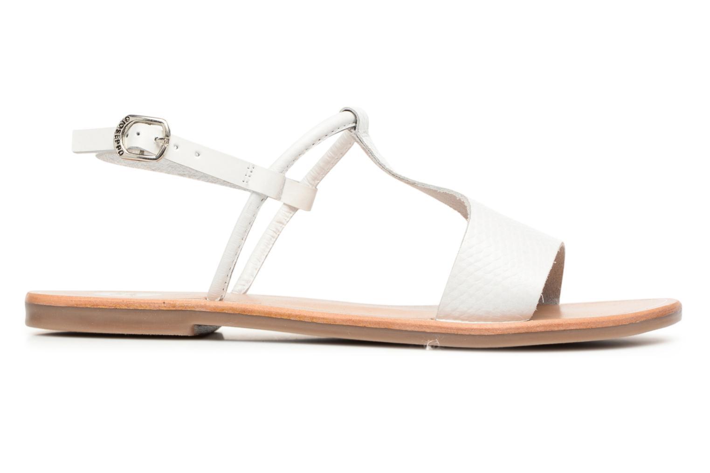 Sandales et nu-pieds Gioseppo Bavana Blanc vue derrière