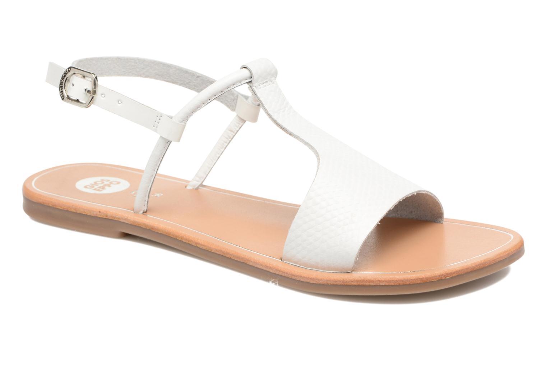 Sandales et nu-pieds Gioseppo Bavana Blanc vue détail/paire