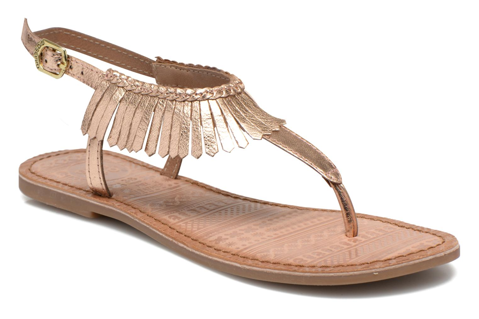 Sandals Gioseppo Lea Pink detailed view/ Pair view