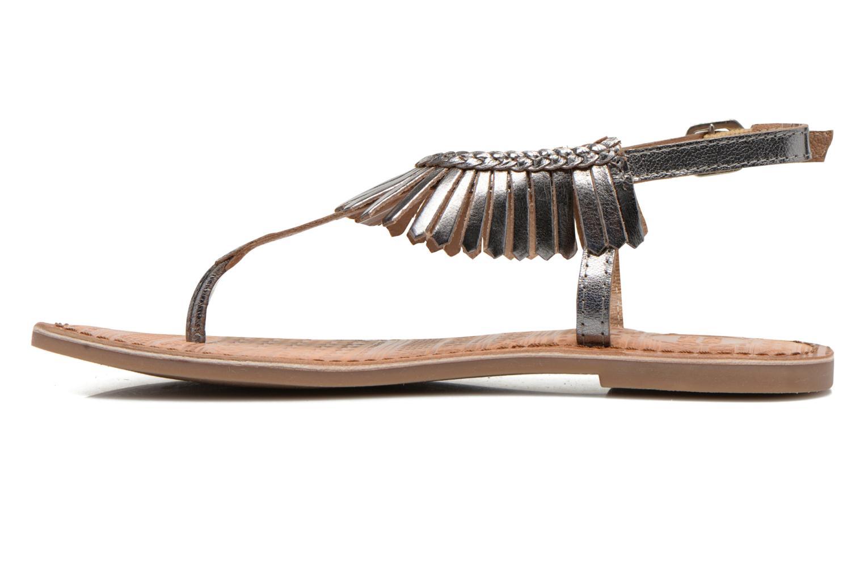 Sandals Gioseppo Lea Silver front view