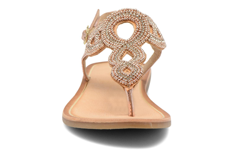 Sandales et nu-pieds Gioseppo Ami Rose vue portées chaussures