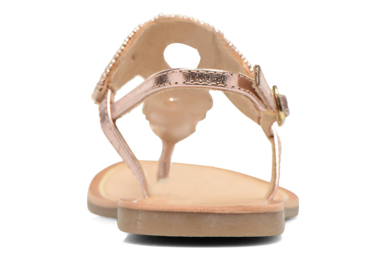 Sandales et nu-pieds Gioseppo Ami Rose vue droite