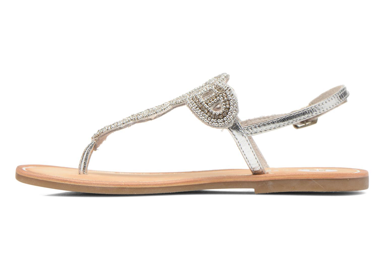 Sandales et nu-pieds Gioseppo Ami Argent vue face