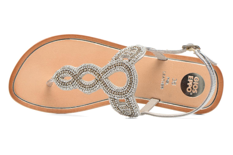 Sandali e scarpe aperte Gioseppo Ami Argento immagine sinistra